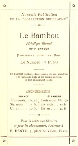 Collection Le Bambou